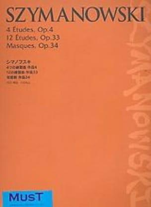 4 Etudes Op. 4, 12 Etudes, Op. 33, Masques Op. 34 - laflutedepan.com