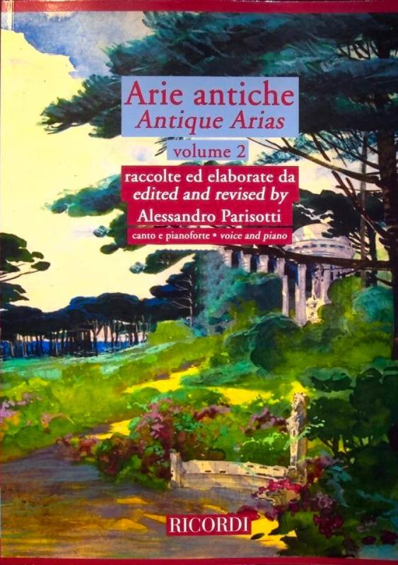 Alessandro Parisotti - Arie Antiche Volume 2 2 CD - Partition - di-arezzo.co.uk