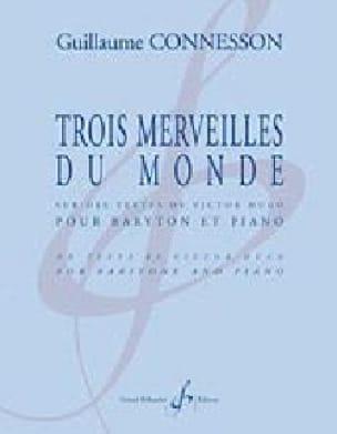 Trois Merveilles Du Monde - CONNESSON - Partition - laflutedepan.com
