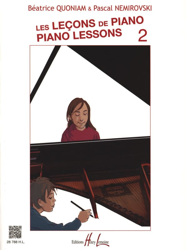 QUONIAM - NEMIROVSKI - The Piano Lessons - Volume 2 - Partition - di-arezzo.co.uk