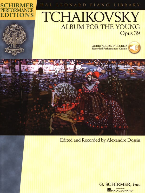 TCHAIKOWSKY - Album For The Young Opus 39 - Partition - di-arezzo.co.uk