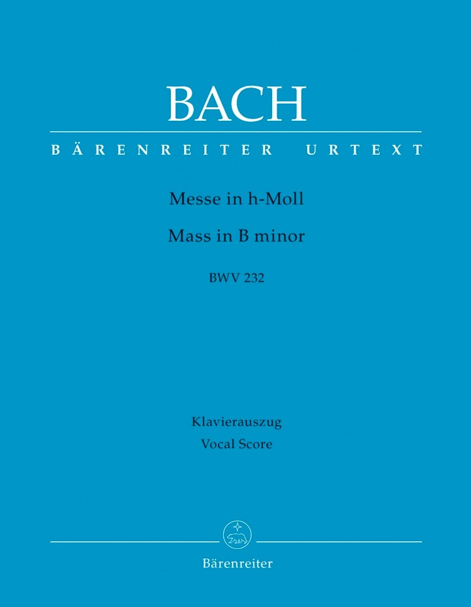 BACH - Mass in If Minor - Partition - di-arezzo.co.uk