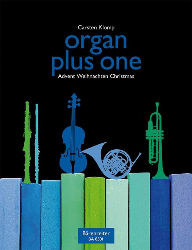 Organ Plus One. Noël - Carsten Klomp - Partition - laflutedepan.com
