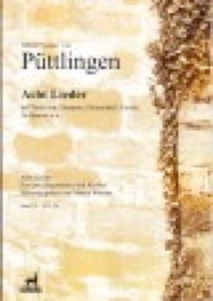 8 Lieder Volume 4 - Johann Vesque Von Püttlingen - laflutedepan.com