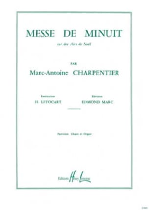 Marc-Antoine Charpentier - Midnight Mass. Chorus alone - Partition - di-arezzo.co.uk