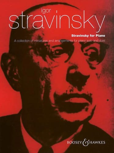 Stravinsky For Piano - STRAVINSKY - Partition - laflutedepan.com
