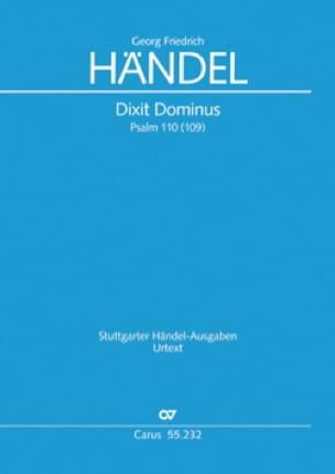 Dixit Dominus Hwv 232. Choeur seul - HAENDEL - laflutedepan.com