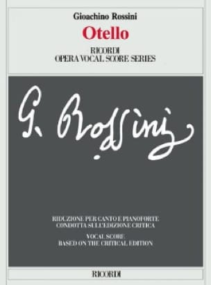 Gioachino Rossini - Otello. Critical Edition - Partition - di-arezzo.co.uk