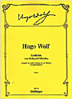 Gedichte Von Eduard Mörike Volume 1 - Hugo Wolf - laflutedepan.com