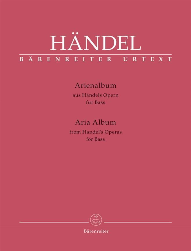 HAENDEL - Arienalbum. Low - Partition - di-arezzo.com