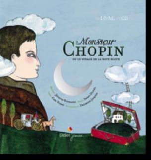 Monsieur Chopin - Norac Carl / Chopin Frédéric - laflutedepan.com