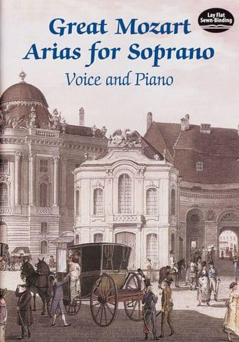Great Mozart Arias For Soprano - MOZART - Partition - laflutedepan.com