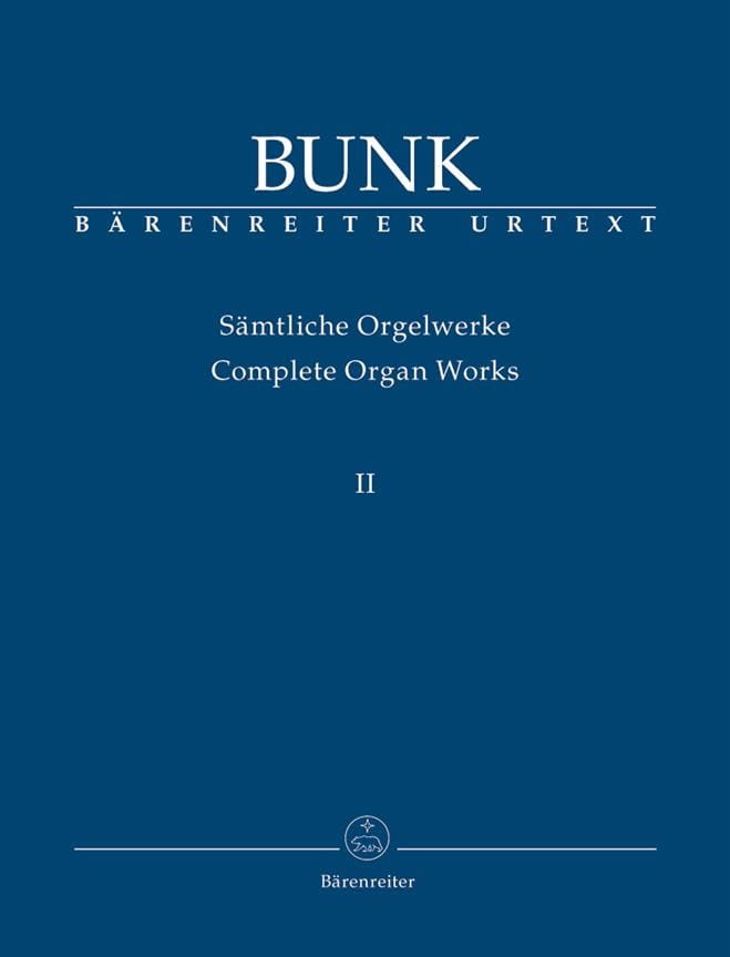 Sämtliche Orgelwerke Volume 2 - Gerard Bunk - laflutedepan.com
