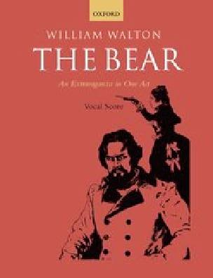 The Bear - William Walton - Partition - Opéras - laflutedepan.com