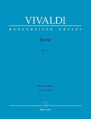 Kyrie RV 587 - VIVALDI - Partition - Chœur - laflutedepan.com