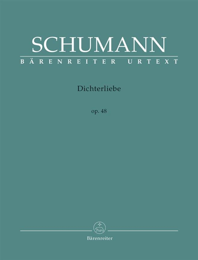 SCHUMANN - Dichterliebe Opus 48 - Partition - di-arezzo.co.uk