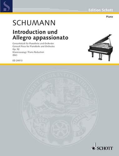 Introduction Und Allegro Appassionato Op. 92 - laflutedepan.com