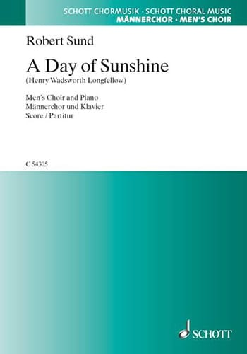 A Day Of Sunshine - Robert Sund - Partition - Chœur - laflutedepan.com