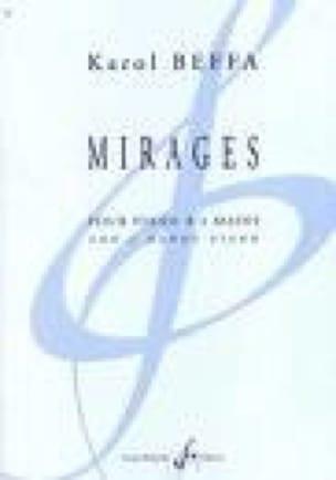 Mirages. 4 mains - Karol Beffa - Partition - Piano - laflutedepan.com