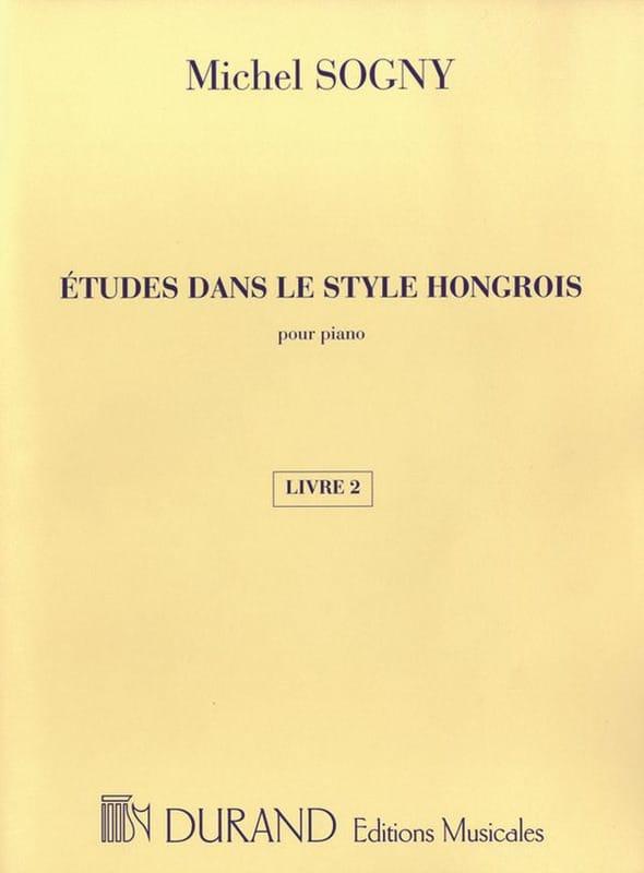 Etudes Dans le Style Hongrois Livre 2 - laflutedepan.com