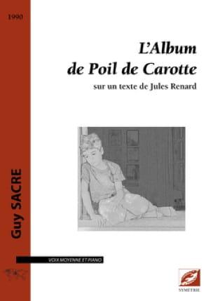 L'album de Poil de Carotte - Guy Sacre - Partition - laflutedepan.com