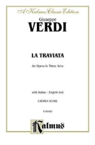 La Traviata* - VERDI - Partition - Opéras - laflutedepan.com