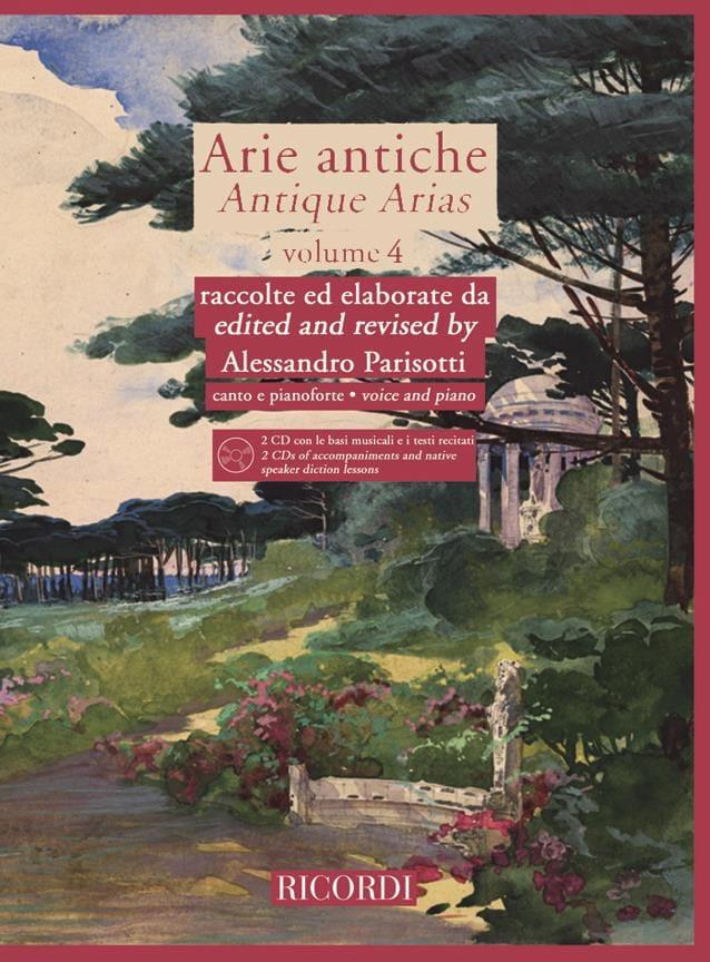 Alessandro Parisotti - Arie Antiche Volume 4 2 CD - Partition - di-arezzo.co.uk