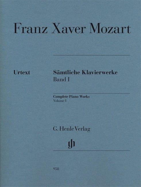 Œuvres Complètes Pour Piano, Volume 1 - laflutedepan.com