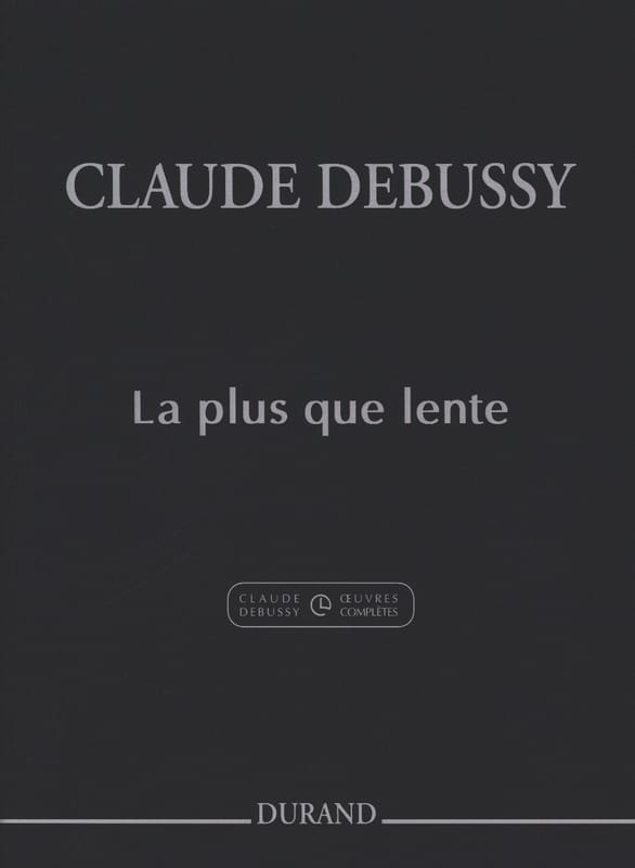 La Plus Que Lente - DEBUSSY - Partition - Piano - laflutedepan.com