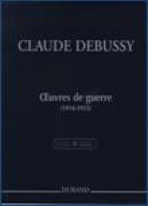 Oeuvres de Guerre 1914-1915 - DEBUSSY - Partition - laflutedepan.com