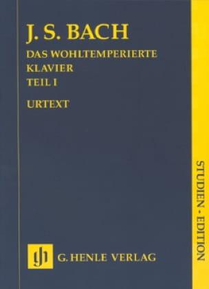 Le Clavier Bien Tempéré. Volume 1 - BACH - laflutedepan.com