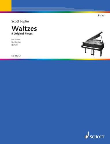 Scott Joplin - Valses - Partition - di-arezzo.com
