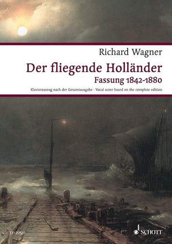 Der Fliegende Holländer Wwv 63 - WAGNER - Partition - laflutedepan.com