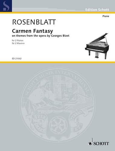 Carmen Fantasy - Alexander Rosenblatt - Partition - laflutedepan.com