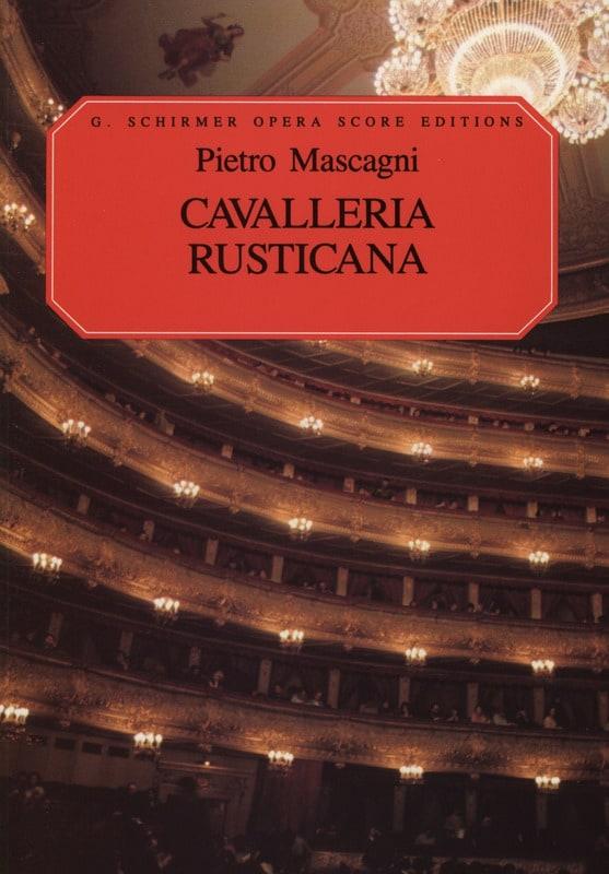 Cavalleria Rusticana - Pietro Mascagni - Partition - laflutedepan.com