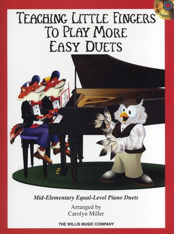 Teaching Little Fingers To Play More Easy Duets - laflutedepan.com