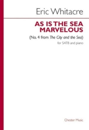 As Is The Sea Marvelous N°. 4 - Eric Whitacre - laflutedepan.com