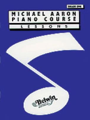 AARON - Piano Course Lessons Volume 1 - English Version - Partition - di-arezzo.co.uk