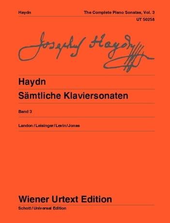 Sonates Pour Piano Volume 3. Nouvelle Edition - laflutedepan.com