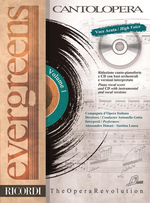 Evergreens. Voix Haute Volume 1 - Partition - laflutedepan.com