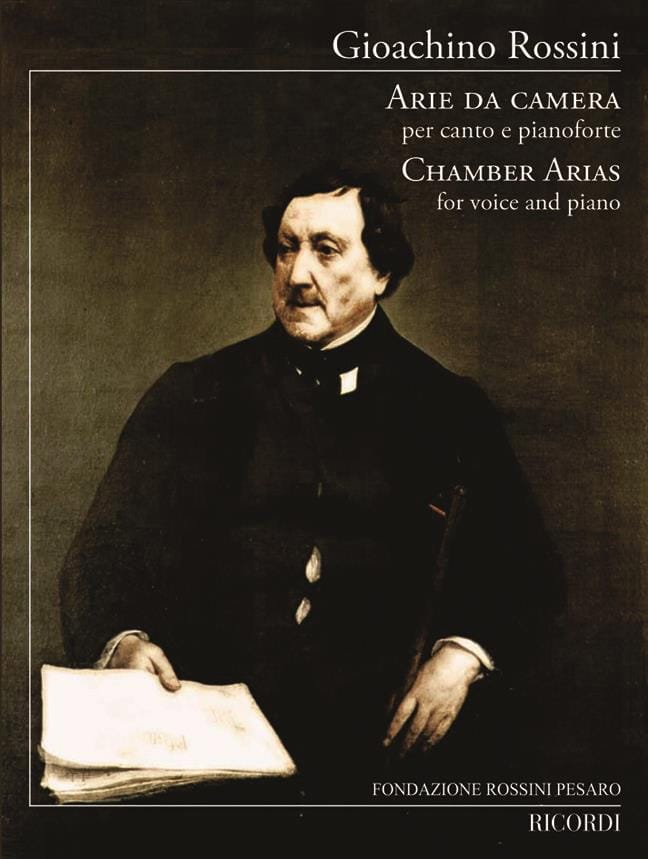 Gioachino Rossini - Arie Da Camera - Partition - di-arezzo.es