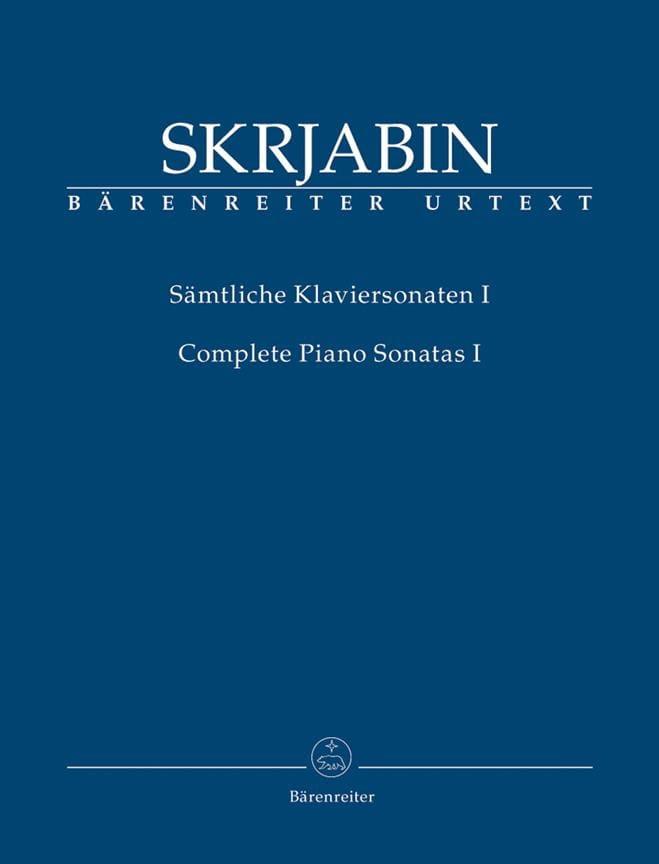 Sonates complètes. Volume 1 - SCRIABINE - Partition - laflutedepan.com