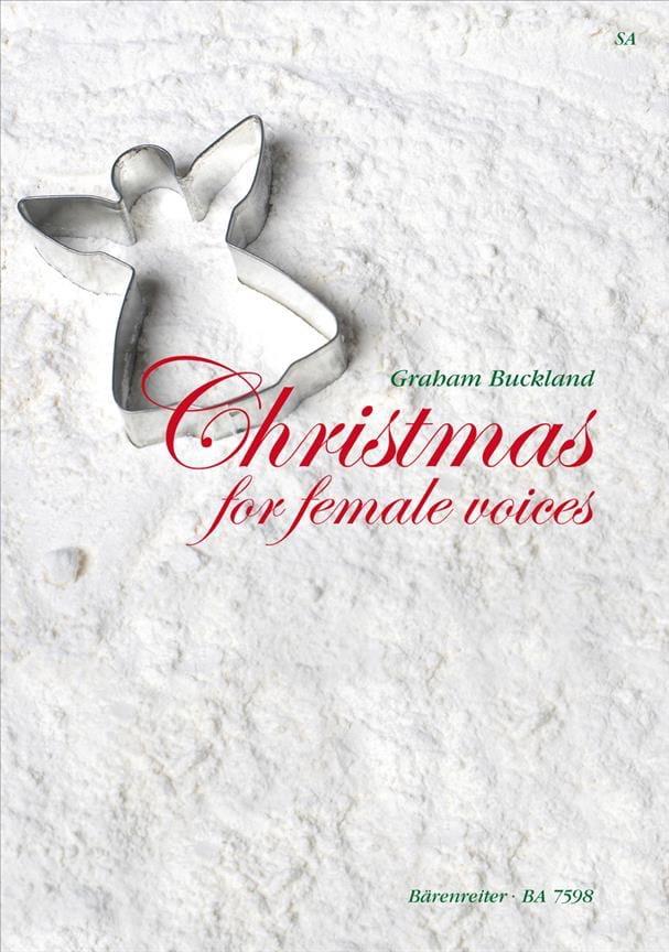 Christmas For Female Voices - Partition - Chœur - laflutedepan.com