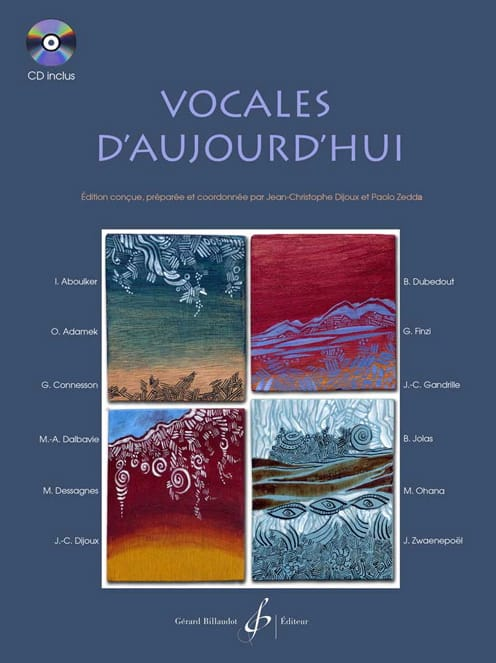 - Vocals Of Today - Partition - di-arezzo.com