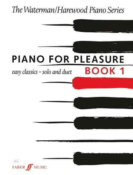 Piano For Pleasure Book 1 - Waterman - Harewood - laflutedepan.com