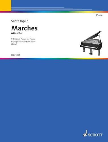 Scott Joplin - Marches - Partition - di-arezzo.com