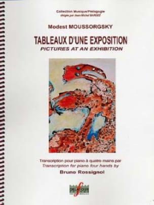 Tableaux D'une Exposition. 4 mains - MOUSSORGSKI - laflutedepan.com