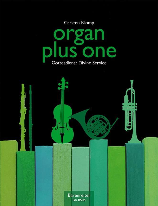Carsten Klomp - Organ Plus One - Partition - di-arezzo.co.uk