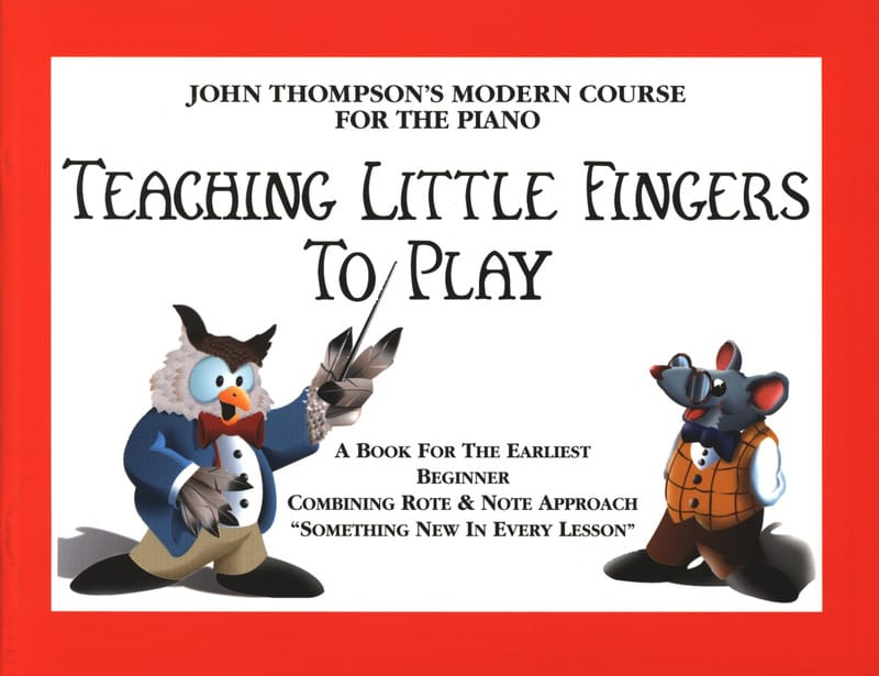 John Thompson - Teaching Little Fingers To Play - Partition - di-arezzo.com