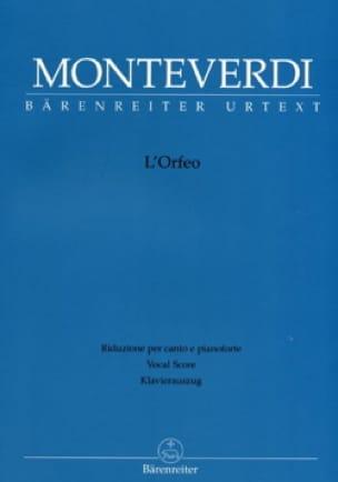 L'Orfeo - MONTEVERDI - Partition - Opéras - laflutedepan.com